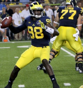 Pic cutline: - Detroiter Devin Gardner and UM fell just short of an upset of Ohio State. - Dan Graschuck photo